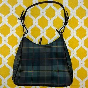 Handbags - Ralph Lauren green Tartan purse